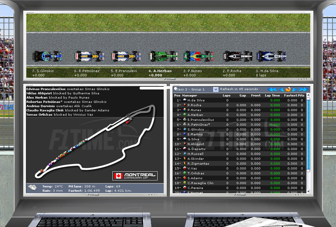 Live Race Viewer